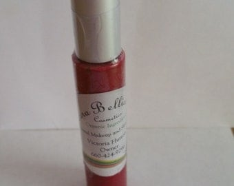 Lip Gloss, Natural, Natural Lip Gloss, cosmetics, Organic Lip Gloss, Cherry Color Vegan Lip Gloss, beauty, women, gift for her, weddings