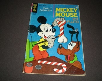 Mickey Mouse and Pluto 128 (1971), Dell/Gold Key M2