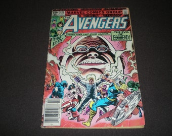 Avengers 229, (1982), Evil of Egghead, Marvel Comics A2