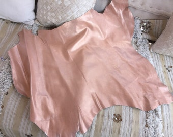 soft leather or rosé
