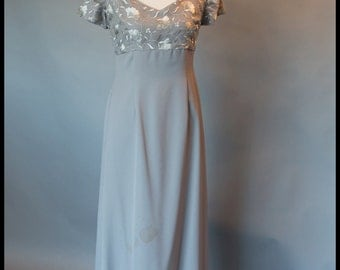 LE Stella Size 12 Umpire Grey Bridesmaids Dress