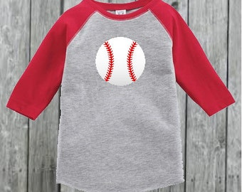 Raglan Baseball Tee for Toddler