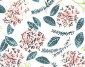 Crib Sheet - Moss Floral