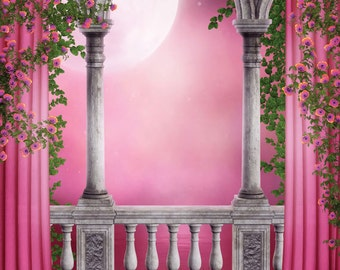 Enchanted Fairy Forest Backdrop Fairy Or Princess By Fabdrops