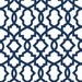 Modern Navy Blue & White Fabric by the Yard Designer Nautical Fabric Drapery or Upholstery Fabric Navy Blue Geometric Home Decor Fabric B133