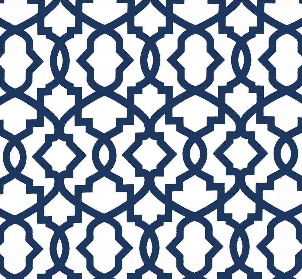 modern navy blue white fabric by the yard designer nautical fabric drapery or upholstery. Black Bedroom Furniture Sets. Home Design Ideas