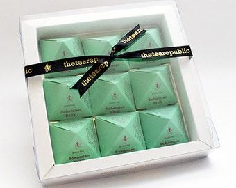 Tea Pyramid Gift Box : Bohemian Batik