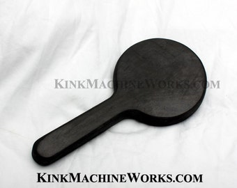 """1"""" thick rubber spanking paddle - Round"""