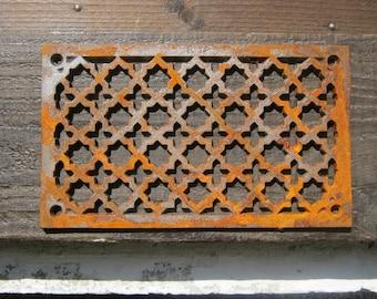 French Vintage Ventilation Grille