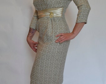 Glamourous 1950s 1960s Mad Men Dress!