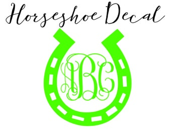 Horseshoe Decal