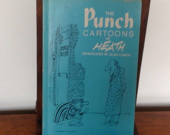 The Punch Cartoons of Heath. Paperback Book 1976.