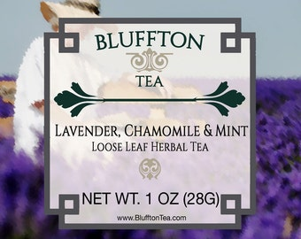 Lavender, Chamomile & Mint Herbal Tea
