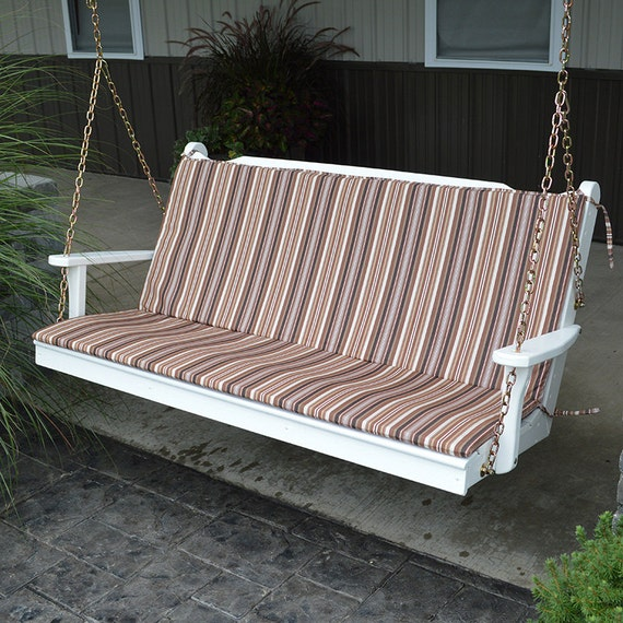 45 x 18 Full Outdoor Cushion For Benches And Porch Swings