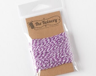 The Twinery Twine - Lilac Purple