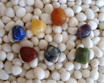 7 Crystal Healing Chakra Stone set