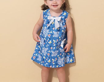 McCall's Pattern M7308 Toddlers' Tent Dresses