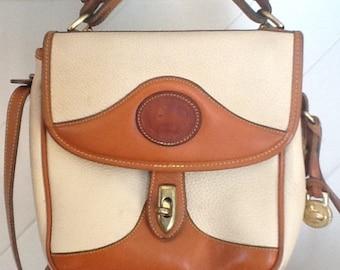 Dooney Bourke, Cross Body Shoulder Bag, Vintage 80's /90's Dooney Bourke Purse