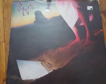Styx - Cornerstone - Album Record LP