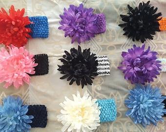 Baby Flower Headband, Girl Headband