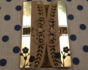 Flower Burst Handmade Card