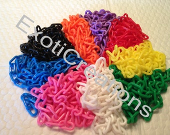 Plastic Chain 4mm - 45 ft - Variety Pack