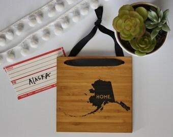 ALASKA//Bamboo State Sign
