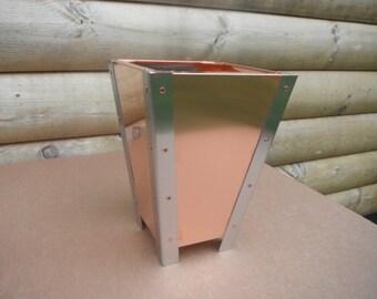 Solid Copper Planter