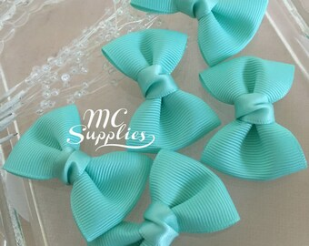 Ribbon bows,baby bow,bows for clips,craft bows,baby shower bow,little bow,scrapbooking bow,embellish bow,baby hair bow,mini bows,132