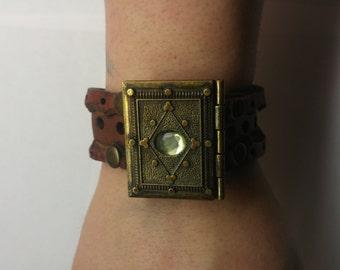 Journal Locket Bracelet