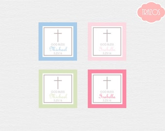 First Communion Favor Tag