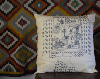 "Stories ""The coquette"" cushion"