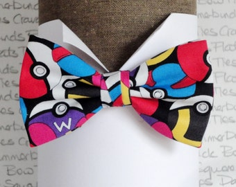 Pokemon Bow Tie, PokemonGo, Bow Ties For Men, Men's Bow Ties