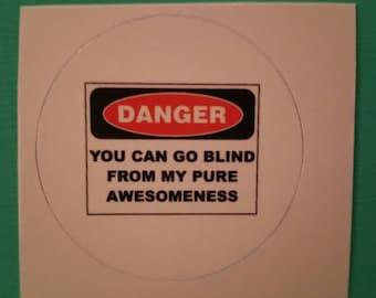 Awesomeness Sticker