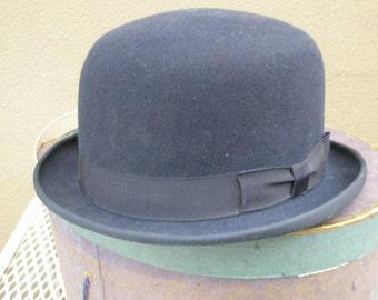 Early Hand Blocked Bolo Hat Original Box-Steam Punk!
