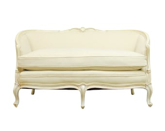 French Louis XV Style Loveseat Settee