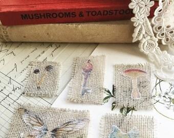 "Magical hand drawn ""faerie inspirations"" motifs"