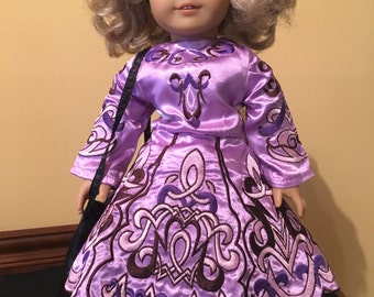 SALE Fits American girl doll clothes doll Irish Dance Dress outfit
