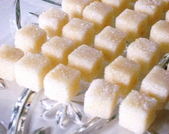 Honey Sugar Cubes (120+) Tea, Beverage Sweetener, Tea Favor Gift - Real Honey