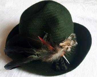 Vintage Bavarian Womens Hat