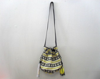 Violeta By Mango Embroidered Bucket Bag