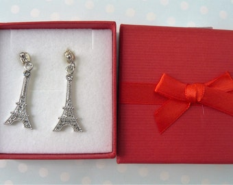 Delightful Eifel Tower Earrings