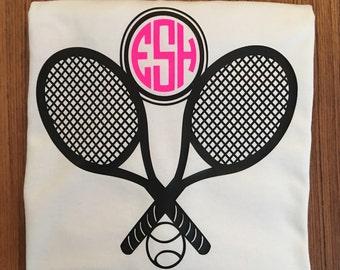 Tennis monogram