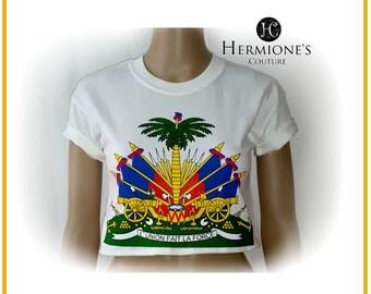 Haiti Logo crop Top
