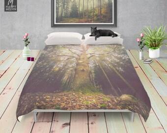 The taller we are - Duvet cover - Bedding - Boho decor - Home decor - Wanderlust - Nature decor - Home - Bedroom - Dorm decor.