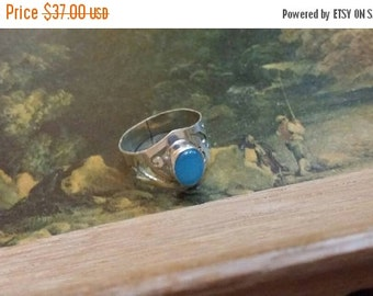 SUMMER END SALE Chalcedony  Size  9 1/4 Ring Gemstone. 925 Sterling  Silver Summer  Sale