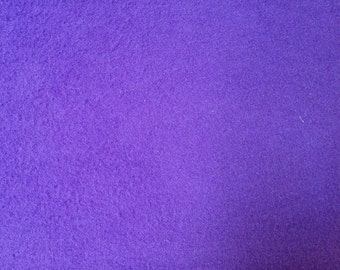 Purple Cotton Flannel Fabric-By-The-Yard