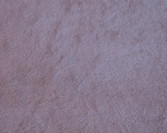 Taupe Faux Suede Cloth 1 yard