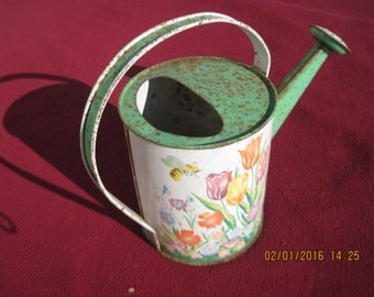 Ohio Art Tin Litho Watering Can