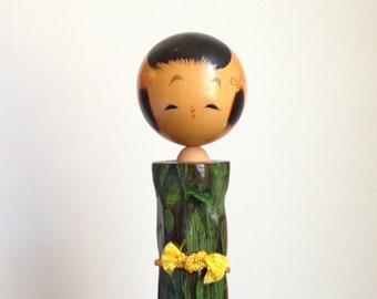 Vintage Japanese Usaburo Kokeshi Doll